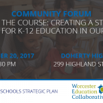 Join Us for A Community Forum December 20, 2017